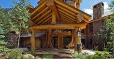 Impeccable Log Home at $8.9 million, Must See Inside!