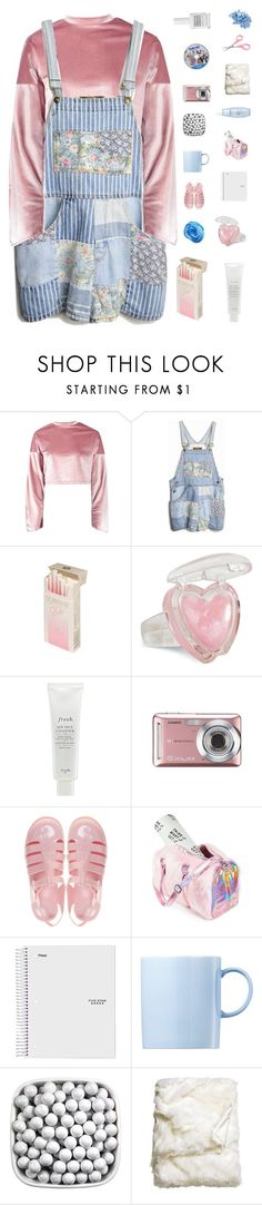 """♡ even in pouring rain i'll make it through the pain"" by deli-lemonade ❤ liked on Polyvore featuring Boohoo, Fresh, Casio, JuJu, Current Mood, Rosenthal, Darphin, H&M, Obsessive Compulsive Cosmetics and INC International Concepts"