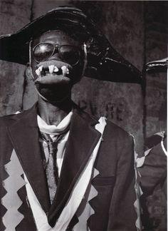 fvalorsa:  KANAVAL: Vodou, Politics and Revolution on the streets of Haiti Photography: Leah Gordon Soul Jazz Publishing