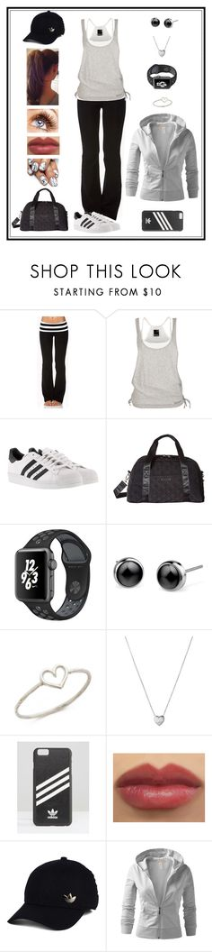 """""""Untitled # 422"""" by binasa87 ❤ liked on Polyvore featuring Forever 21, adidas, Vera Bradley, Aurélie Bidermann, Links of London and J.TOMSON"""