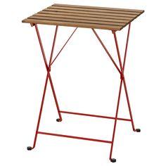 TÄRNÖ Mesa, exterior, verm, castanho claro c/velatura - IKEA Wood Supply, Recycling Facility, Ikea Family, Parasols, Acacia Wood, Folding Chair, Wood Species, Types Of Wood, Lineup