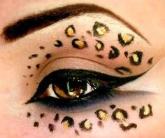#makeup #animalprint