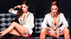 HOMBRE Magazine featuring Monique Leshman Glamour Tunic in Ivory