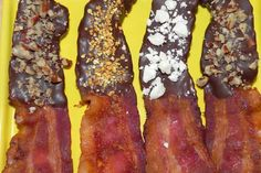 Chocolate Covered Bacon Recipes!