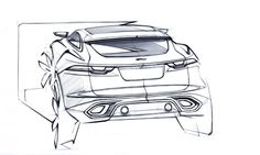 Jaguar C-X17: the design - Car Body Design