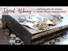 Tutorial Alchemy: reto DT La Tienda de las Manualidades - YouTube