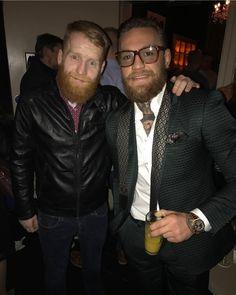 Conor Mcgregor Style, Connor Mcgregor, Fashion 101, Suit Fashion, Mens Fashion, Notorious Conor Mcgregor, Executive Fashion, Ginger Beard, Bearded Men