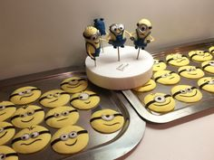 Minions Aufleger Cupcakes