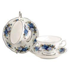 Royal Roses Bone China - Cup and Saucer - Single
