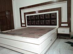 39 Super Ideas for wood working ideas storage doors Indian Bedroom Design, Bedroom Bed Design, Bed Designs With Storage, Sofa Set Designs, Bed Furniture, Home Decor Furniture, Furniture Design, Modern Furniture, Wood Bed Design