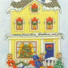Gallery.ru / Все альбомы пользователя natalytretyak Advent Calendar, Holiday Decor, Home Decor, Punto De Cruz, Dots, Houses, Homemade Home Decor, Interior Design, Home Interior Design