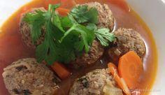 Paleo Albondigas Soup   captaincavedan.com Clean Recipes, Paleo, Soup, Beef, Meat, Beach Wrap, Soups, Steak, Paleo Food