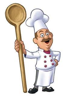 cartoon chef pictures for kitchen Fat Chef Kitchen Decor, Kitchen On A Budget, Kitchen Art, Chef Pictures, Kitchen Pictures, Cartoon Chef, Le Chef, Decoupage Paper, Preschool Activities