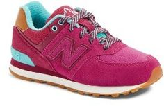 Girl's New Balance 574-Ne Sneaker #newbalance #sneakers #shoes #fashion #nb #outfit #trends #trendway #sneakerhead