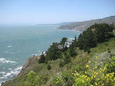 California Coast north of San Francisco