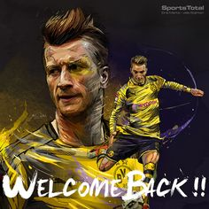 Some orders for the social media of SportsTotal, (team of communication for soccer players). Toni Kroos, Marco Reus and his recovery, and four players of the BVB Dortmund. Football Final, Football Gif, Football Pictures, Sports Photos, Toni Kroos, Messi And Ronaldo, Barcelona Football, Soccer Kits, Football Wallpaper