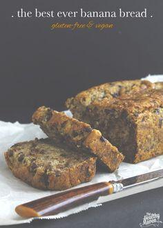 The Best Ever Banana Bread | The Healthy Maven #glutenfree #vegan