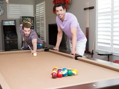Property Brothers Drew and Jonathan Scott just completed a top-to-bottom gut renovation of their Las Vegas home. Flip through before-and-after photos to see the total transformation. From the experts at HGTV.com.
