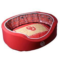 Oklahoma Sooners Large Stadium Pet Bed