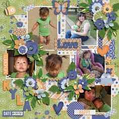 Layout using {Hello Spring} Digital Scrapbooking Bundle by Keley Designs http://store.gingerscraps.net/Hello-Spring-Bundle-by-Keley-Designs.html and {Day By Day} Grab Bag by Tinci Designs http://store.gingerscraps.net/Day-by-day-1.-Grab-Bag.html