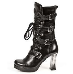 M.5815 S10 New Rock High Quality Goth Platform Heel Punk Boot $26 To