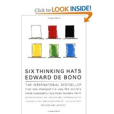 Six Thinking Hats Edward de Bono is a Maltese physician, author, inventor and consultant. He originated the term lateral thinking, wrote the book Six Thinking Hats and is a proponent of the deliberate teaching of thinking as a subject in schools Six Thinking Hats, Most Successful Businesses, Lateral Thinking, Team Activities, Student Gifts, Free Reading, Critical Thinking, Problem Solving, Audio Books