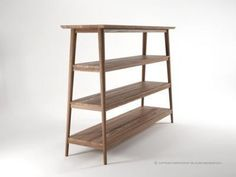 Love these shelves from Curious Grace.