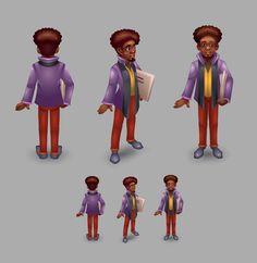 Black man, Daria Chu on ArtStation at https://www.artstation.com/artwork/yeOqQ