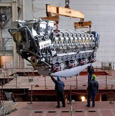 MTU 20V 8000 M90 Diesel Engine