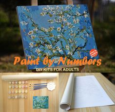 8 Amazing Painting For Home – Learn How To Painting - Star Art Diy Painting, Painting & Drawing, Diy Canvas, Canvas Art, Diy Kits For Adults, Paint By Number, Learn To Paint, Painting Techniques, Art Tutorials