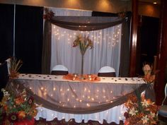 Image detail for -Now & Forever Wedding Decor - Fall Wedding Show