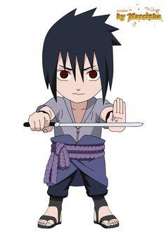 Chibi Sasuke by marcinha20