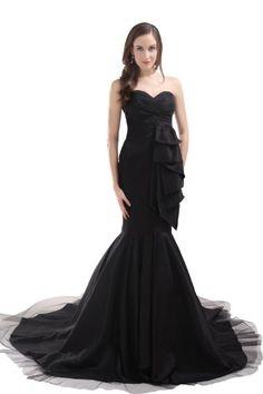 Alternative Wedding Dresses: Black Gowns for a Daring Bride