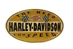 2010661 - Harley-Davidson® Need For Speed Oval Tin Sign - Barnett Harley-Davidson® Harley Davidson Signs, Harley Davidson Motor, Vintage Harley Davidson, House Of Harley, Garage Walls, Metal Plaque, Need For Speed, Tin Signs, Bar