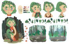 Lola Character Designs by Leah Artwick, via Behance