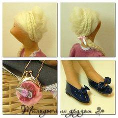 Коллекционные куклы ручной работы. Ярмарка Мастеров - ручная работа Текстильная кукла  Милена. Handmade.