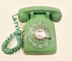 Mint Rotary Phone