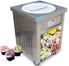 Thai Fried Roll Ice Cream Machine