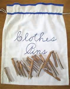 Vintage Clothespin Bag - Bing Images