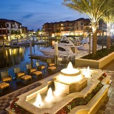 Naples Bay Resort, in Naples Florida---world class amenities, close to downtown, fabulous marnia with direct access! Rental boats available! For information about #NaplesWaterfront call 239-370-0574