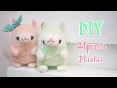 DIY Alpaca Sock Plush Animal