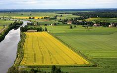 South Ostrobothnia province of Western Finland. - Kitinoja, Etelä-Pohjanmaa.