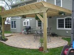How to Build a Pergola (Attached to House) thumbnail