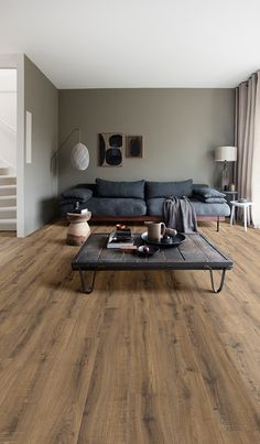 Stunning hardwearing and long-lasting. Moduleo luxury vinyl flooring is perfect for taking your flooring to the next. Vinyl Flooring Uk, Pvc Flooring, Luxury Vinyl Flooring, Luxury Vinyl Tile, Living Room Green, Living Room Modern, My Living Room, Home And Living, Living Room Decor