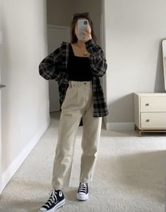 Indie Outfits, Teen Fashion Outfits, Edgy Outfits, Retro Outfits, Cute Casual Outfits, Look Fashion, Korean Fashion, Vintage Outfits, Mode Instagram