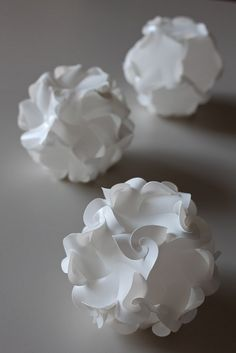 Elastica Curved Fold Dodecahedron by Prof. YM, via Flickr