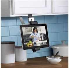 Belkin Kitchen Mount, $50 | Holiday Tech Gift Ideas for Foodies - Parenting.com