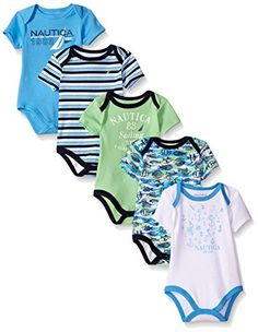 Nautica Baby Boys' Newborn Five-Pack Bodysuits, Aqua Gree... https://www.amazon.com/dp/B0187RG2XG/ref=cm_sw_r_pi_dp_x_r067ybZ9MPRHS
