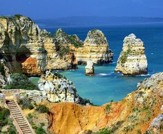 This free site is designed to help you find all the best places in Lagos Portugal the jewel of the Algarve. Great Places, Places To See, Beautiful Places, Amazing Places, Places Around The World, Around The Worlds, Living In London, Famous Places, Future Travel