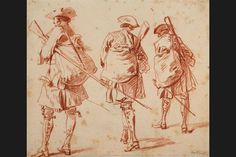 The Städel Museum is presenting a comprehensive exhibition on one of the most outstanding draughtsmen in the history of French art - Antoine Watteau (1684–1721). The show in the Exhibition Gallery of the Department of Prints and Drawings brings together fifty drawings by Watteau, enhanced by six of his paintings and a small selection of drawings by contemporaries and successors. Photo: Städel Museum.